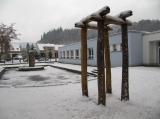 Dřevěná zvonička