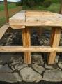 Stůl s posezením