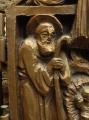 Betlém,detail, Svatý Josef